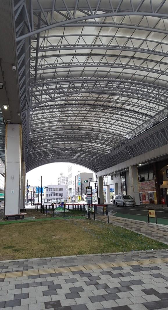 鳥取駅前太平線の大屋根約6.6億円