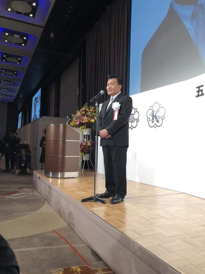 10月28日 五中小石川創立100周年祝賀パーティー