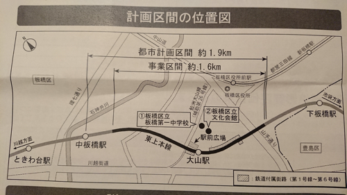 計画区間の位置図