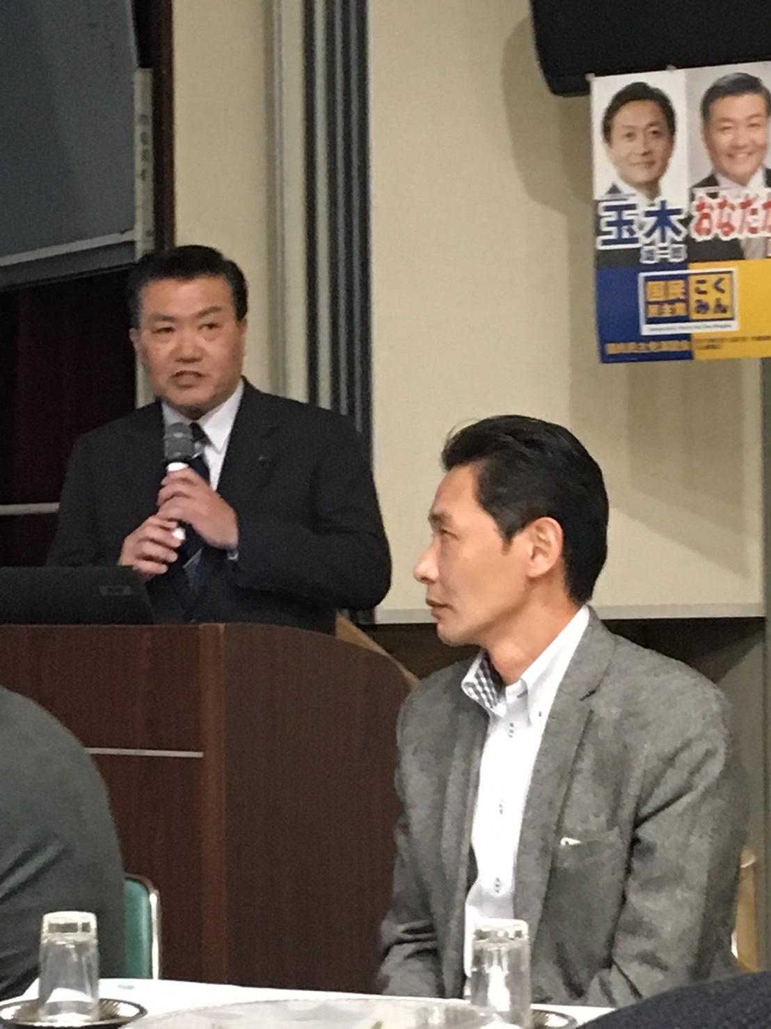 3/24(日)区政報告会  ご来場、ありがとうございました!