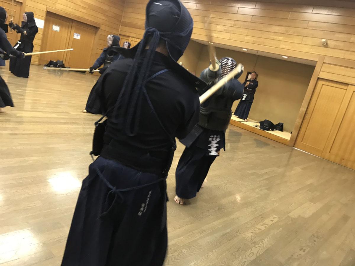 剣道の稽古も