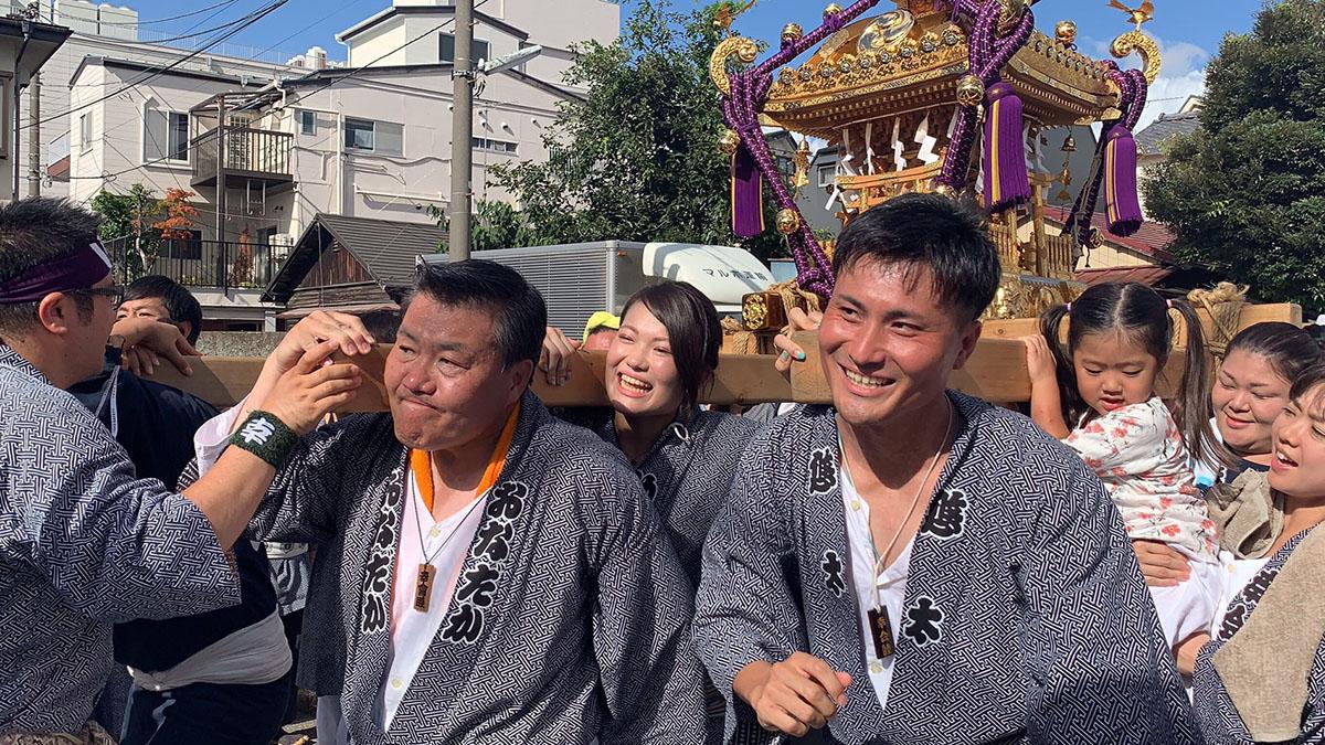 熊野神社例大祭 地元幸町幸會