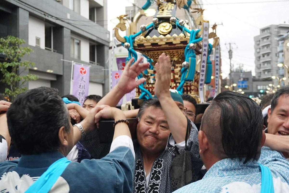 常盤台天祖神社  弥生睦